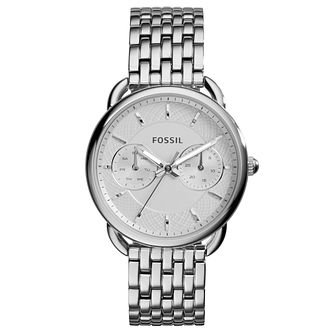 Fossil Tailor Ladies' Stainless Steel Bracelet Watch - Product number 3735354