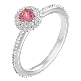 Chamilia Soiree sterling silver October birthstone ring L - Product number 3742954
