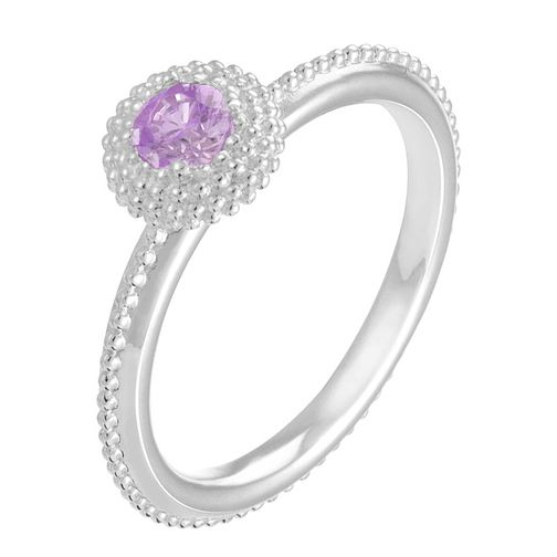 Chamilia Soiree sterling silver February birthstone ring XS - Product number 3743543
