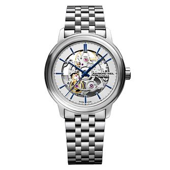 Raymond Weil Maestro Men's Skeleton Bracelet Watch - Product number 3749878