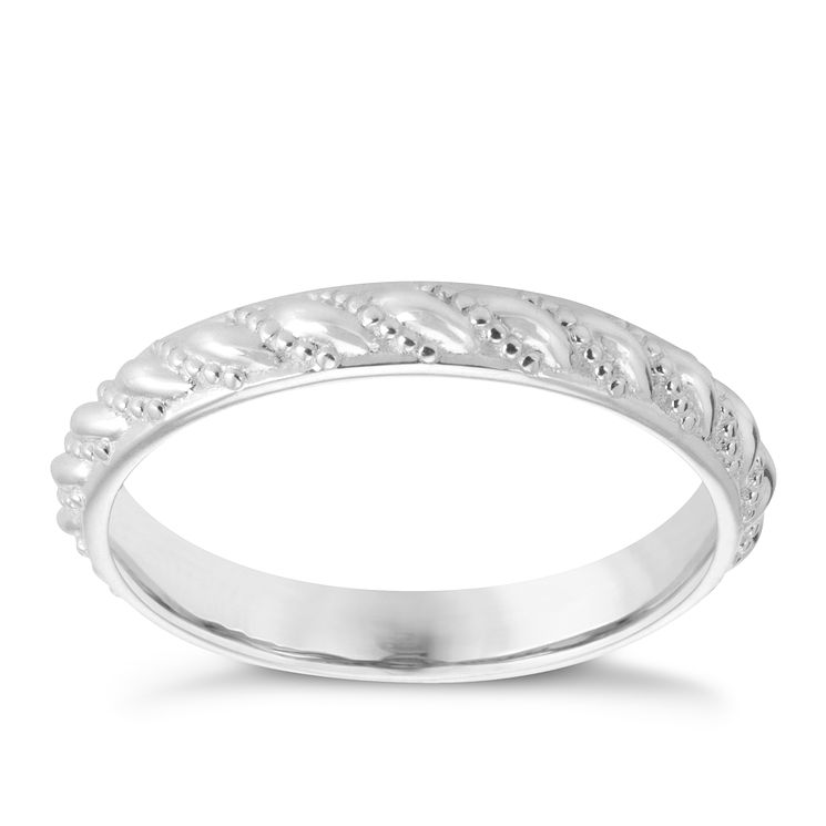 Chamilia Sterling Silver Timeless Stacking Ring M - Product number 3755134