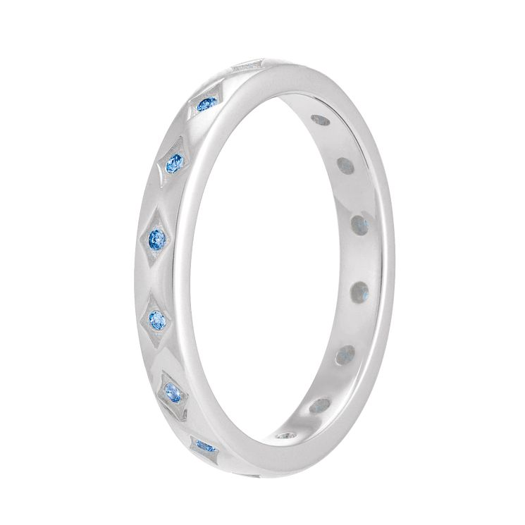Chamilia Artic Blue Starry Eyed Stacking Ring Meduim - Product number 3755274