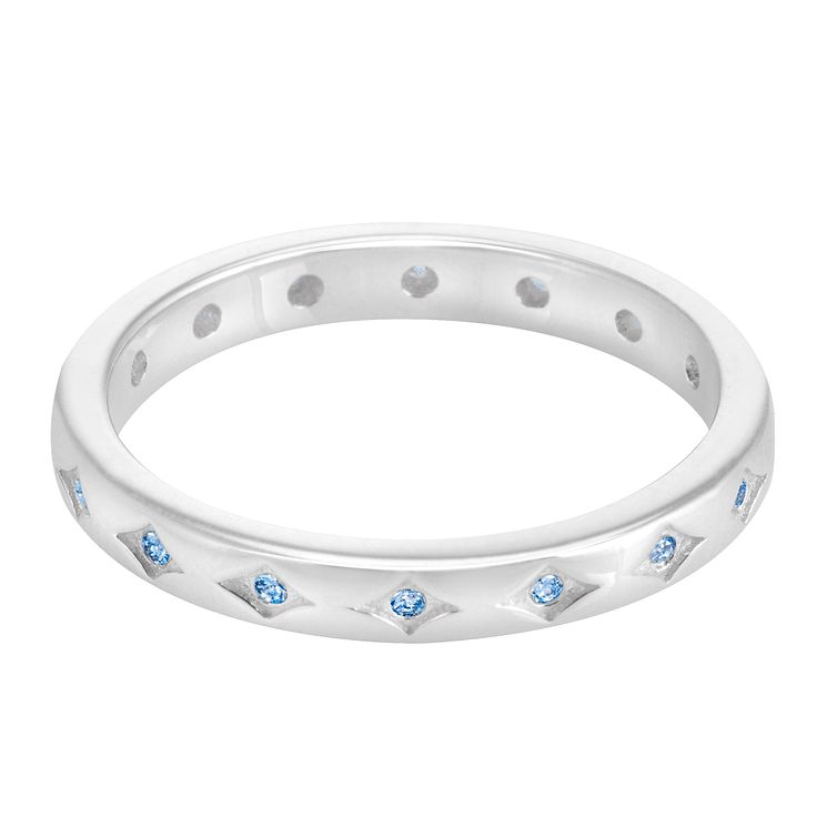 Chamilia Silver Starry Eyed Stacking Ring Extra Large - Product number 3755290