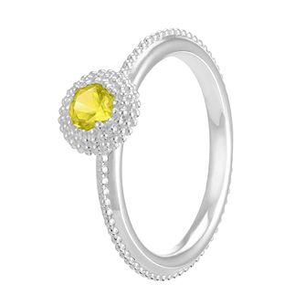 Chamilia Soiree Silver November Birthstone Ring Meduim - Product number 3755355