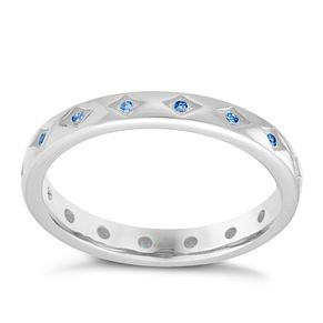 Chamilia Arctic Starry Eyed Swarovski Zirconia Ring Small - Product number 3755398
