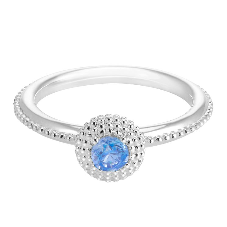 Chamilia Soiree Silver December Birthstone Ring Medium - Product number 3755533