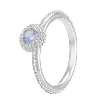 Chamilia Soiree Silver March Birthstone Ring Small - Product number 3755681