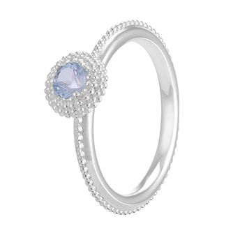 Chamilia Soiree Silver March Birthstone Ring Medium - Product number 3755703