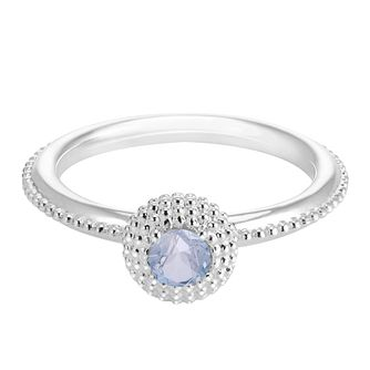 Chamilia Soiree Silver March Birthstone Ring Large - Product number 3755711
