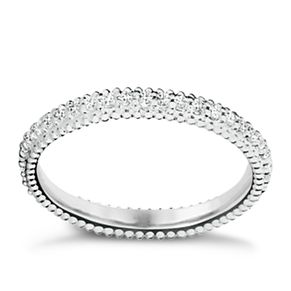 Chamilia Swarovski ZirconiaEternity Stacking Ring XS - Product number 3756289