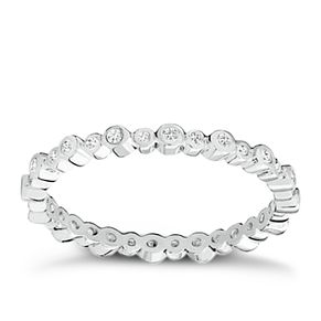 Chamilia Swarovski Zirconia Infinity Stacking Ring XS - Product number 3756408