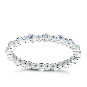 Chamilia Swarovski Zirconia Infinity Stacking Ring XS - Product number 3756440