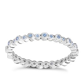 Chamilia Swarovski Zirconia Infinity Stacking Ring XL - Product number 3756459