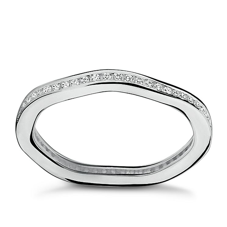 Chamilia Swarovski Zirconia Tranquillity Stacking Ring XS - Product number 3756491