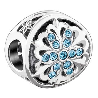 Chamilia Sterling Silver Stone Set Luminous Accent Bead - Product number 3756785
