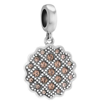 Chamilia Sterling Silver Stone Set Sweet Tart Charm Bead - Product number 3757234