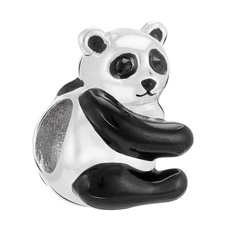 Chamilia Panda Charm with Black Enamel & Swarovski Crystal - Product number 3757250