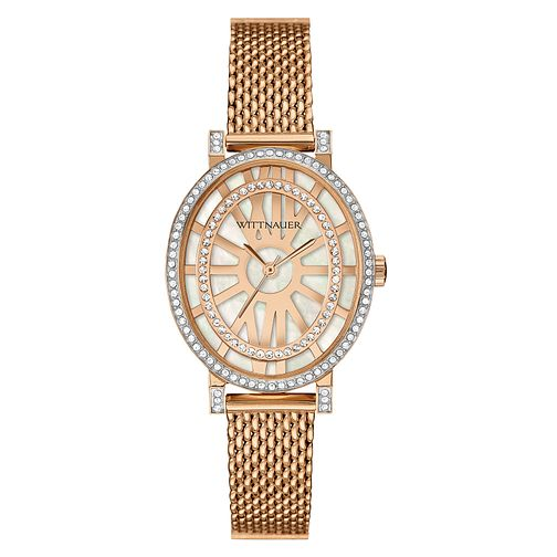 Wittnauer Charlotte ladies' rose gold-plated watch - Product number 3760278