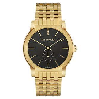 Wittnauer Carly ladies' yellow gold-plated bracelet watch - Product number 3760707