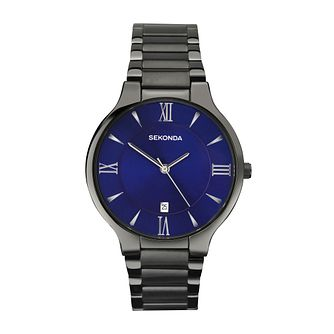 Sekonda Equinox Men's Blue Dial Bracelet Watch - Product number 3761096