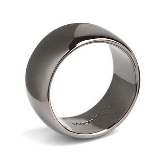 Simon Carter men's stainless steel & gunmetal PVD ring small - Product number 3761614