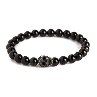 Simon Carter men's onyx skull bracelet - Product number 3761665