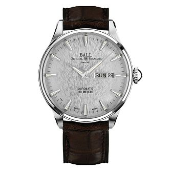 Ball Trainmaster Eternity men's stainless steel silver watch - Product number 3762327