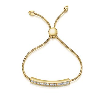 Buckley London Gold Plated Cubic Zirconia Bracelet - Product number 3762688