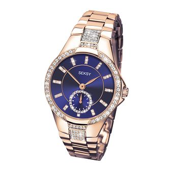 Seksy Eternal Ladies' Rose Gold Plate Bracelet Watch - Product number 3765660