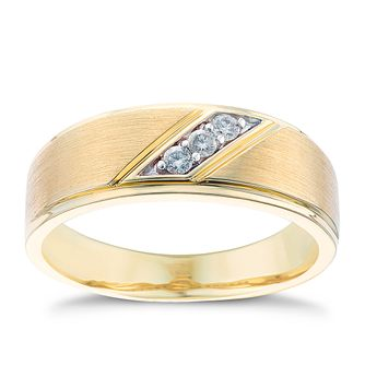 9ct gold & diamond ring - Product number 3766462