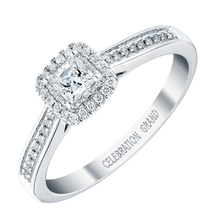 Celebration Grand 18ct White Gold 1/3 Carat Diamond Ring - Product number 3772985