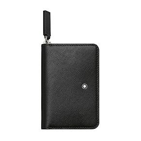 Montblanc ladies' black coin case with zip - Product number 3777243