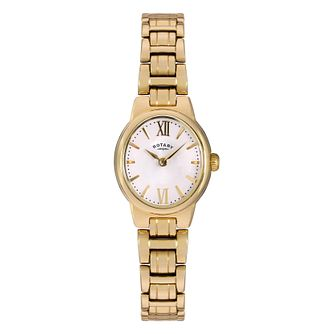 Rotary Ladies' Olivie Gold Plated Bracelet Watch - Product number 3780473