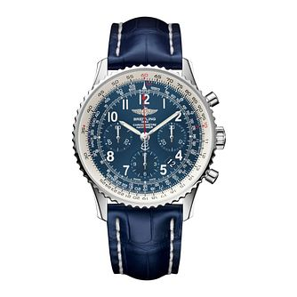 Breitling Navitimer GMT Men's Stainless Steel Strap Watch - Product number 3784363