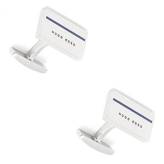 Hugo Boss Men's Stainless Steel Coloured Cufflinks - Product number 3786498
