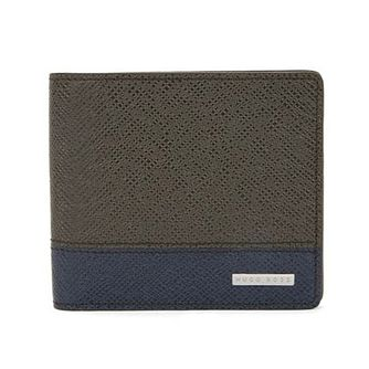 Hugo Boss Signature Men's Green 8cc Wallet - Product number 3786765