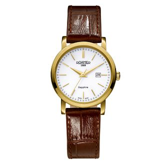 Roamer Classic Line Ladies' Leather Strap Watch - Product number 3788075
