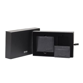 Hugo Boss Men's 8cc Wallet and Cardholder Gift Set - Product number 3789888