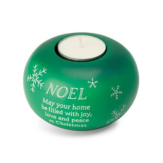 Noel Christmas Green Tealight Holder - Product number 3800989