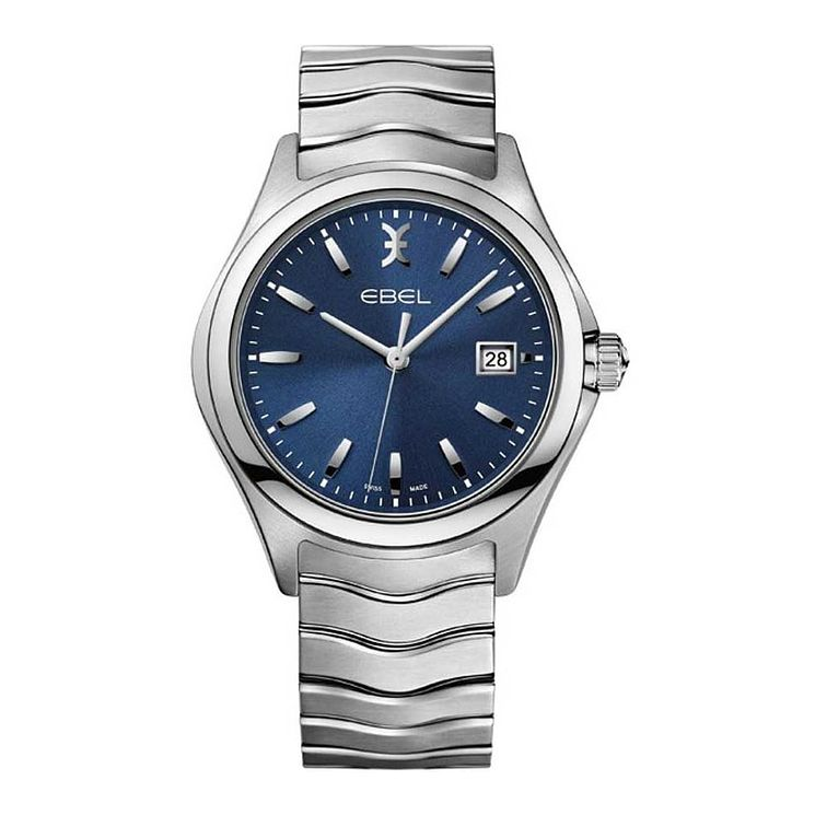 Ebel Wave men's stainless steel blue dial bracelet watch - Product number 3808513