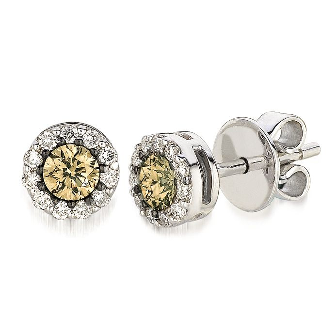 Le Vian 14ct Vanilla Gold and Vanilla Diamond earrings - Product number 3808602