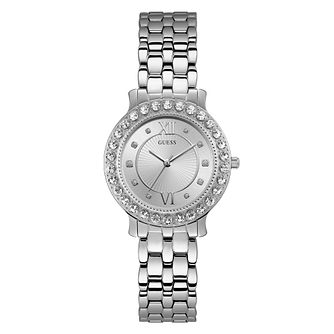 Guess Blush Ladies' Stainless Steel Bracelet Watch - Product number 3818217