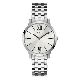 Guess Broker Men's Stainless Steel Bracelet Watch - Product number 3821102
