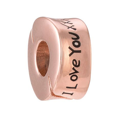 Chamilia I Love You, I Love You More rose gold-plated charm - Product number 3823490