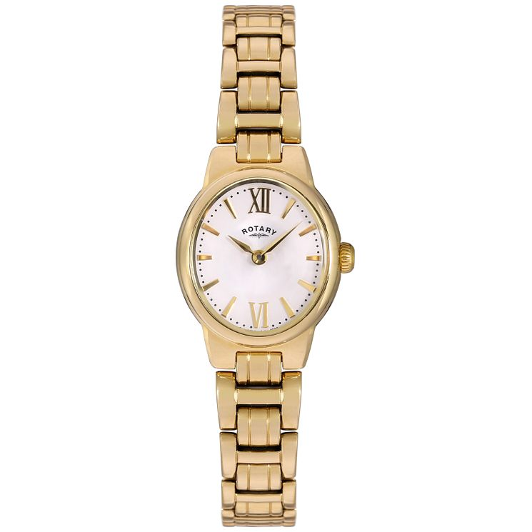 Rotary Olivie ladies' gold-plated bracelet watch - Product number 3823911