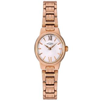 Rotary Olivie ladies' rose gold-plated bracelet watch - Product number 3823938