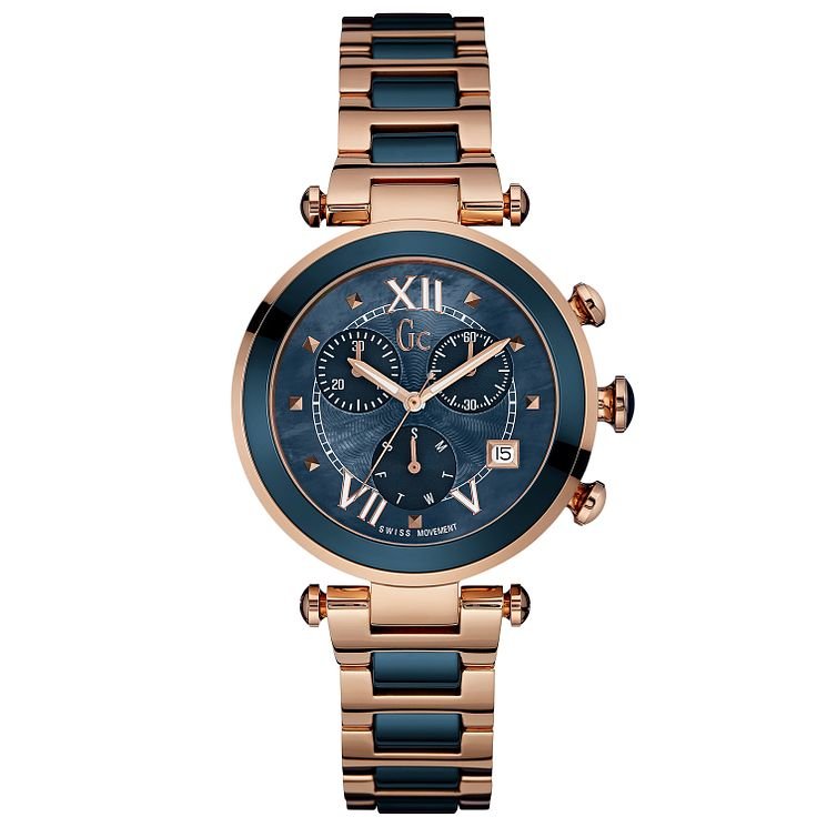 Gc Ladychic Ladies' Two Colour Bracelet Watch - Product number 3824330