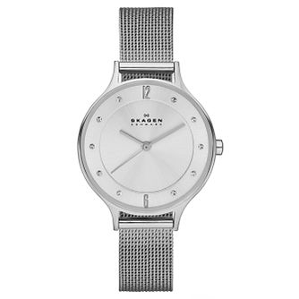 Skagen Ladies' Stainless Steel Mesh Bracelet Watch - Product number 3824659