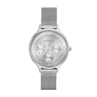 Skagen Ladies' Stainless Steel Mesh Bracelet Watch - Product number 3824810