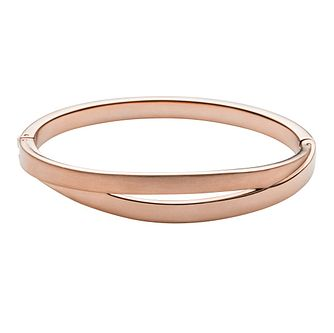 Skagen Elin Rose Gold Tone Bangle Bracelet - Product number 3824934